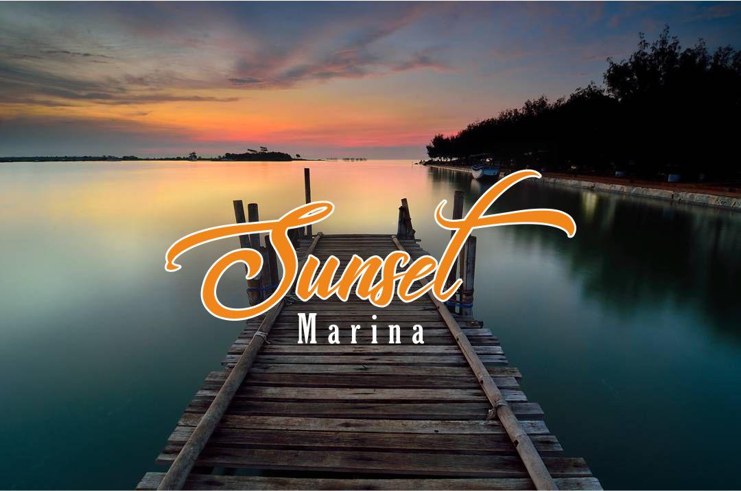 Berburu Sunset Di Pantai Marina Semarang