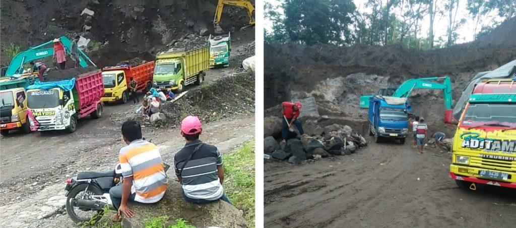 Di Klaten, tambang ilegal operasi, aparat terkesan tutup mata 2