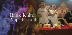 Vapers Antusias Sambut 'Batik Kultur Vape Festival' di Pekalongan