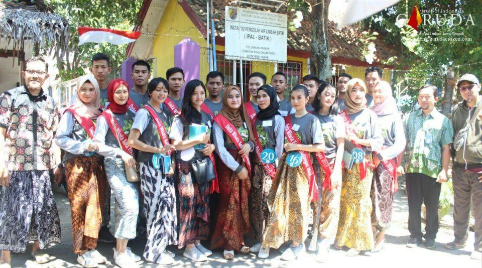 20 Finalis Duta Wisata Ikuti Class City Tour