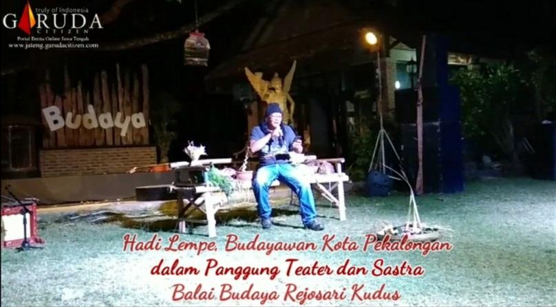 Hadi Lempe, Dalam Sastra Balai Budaya Rejosari Kudus