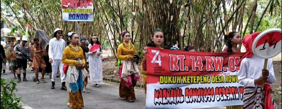Karnaval Ragam Budaya Desa Rowoyoso Kabupaten Pekalongan