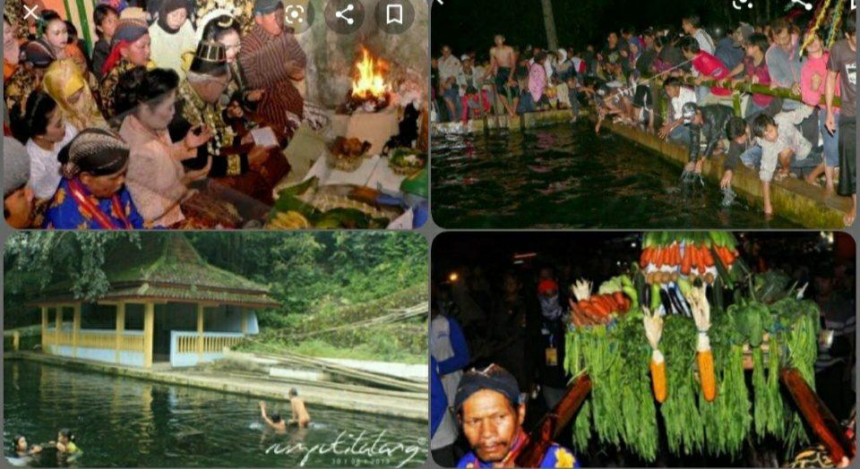 Ritual Sendang Sidukun Temanggung Sambut Malam 1 Sura