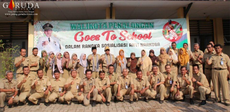 Goes to School, Walikota Kunjungi SMK Muhammadiyah Pekalongan