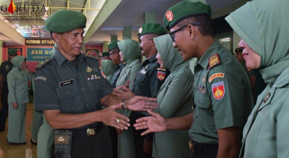 Kodim Pekalongan Lepas 2 Perwira dan Serah Terima Jabatan Danramil