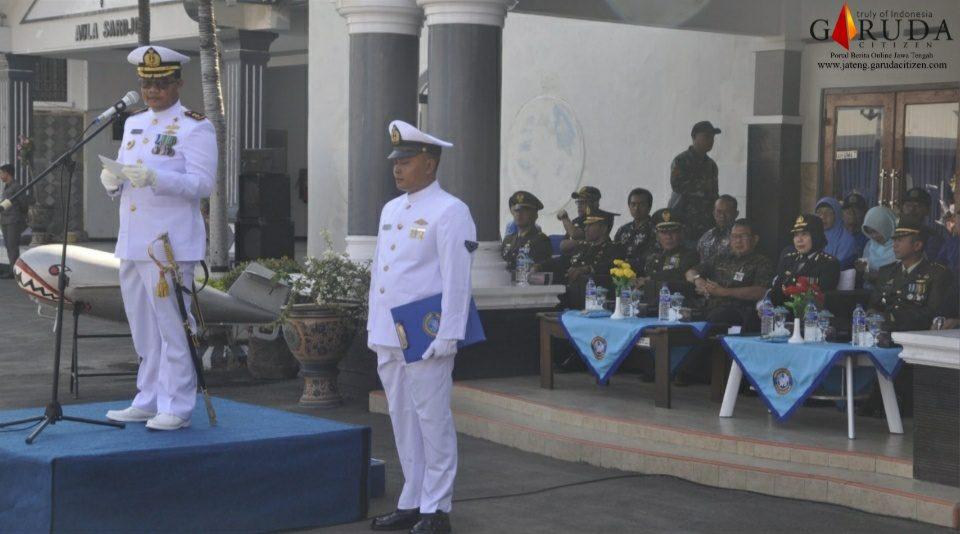 Danlanal Tegal Pimpin Upacara HUT ke-74 TNI AL