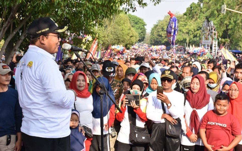 Hari Jadi ke-397, Kabupaten Pekalongan Gelar Jalan Sehat