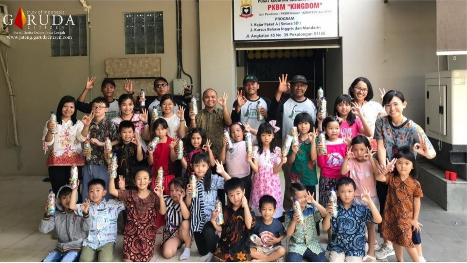 PKBM Kingdom Gelar Edukasi Lingkungan Bersama Komunitas Sapulidi