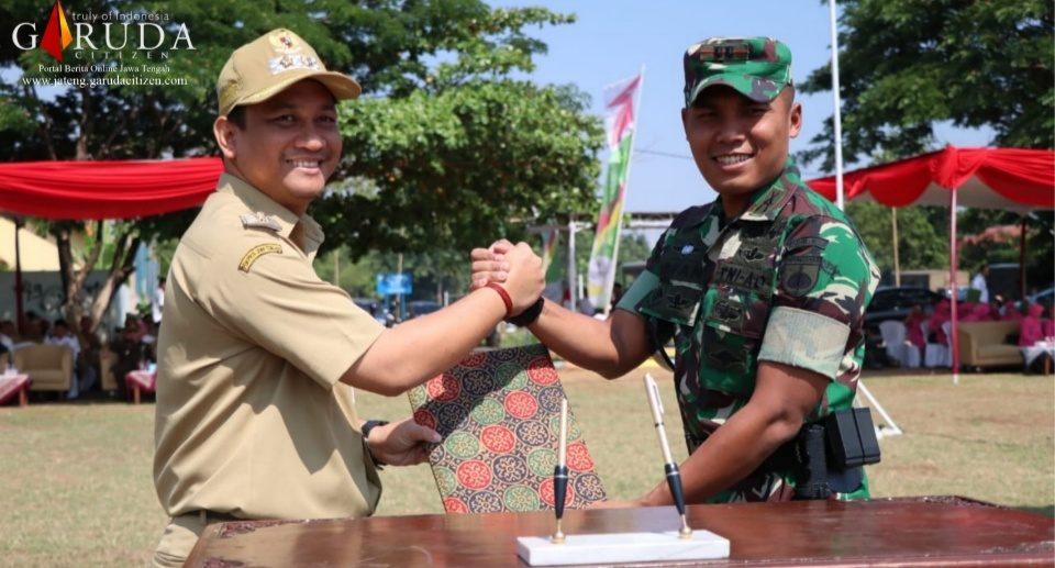 Wakil Walikota Pekalongan Resmi Buka TMMD Sengkuyung III 2019