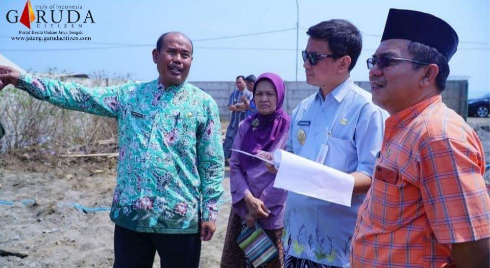 Wakil Walikota Tinjau Proyek Pembangunan Pompa Air Kelurahan Klego