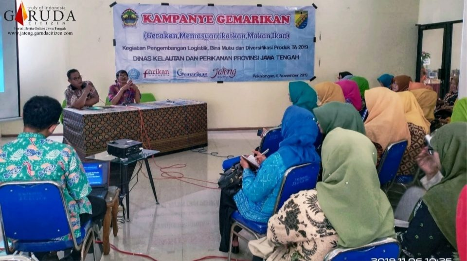 Kampanye Gemarikan, Tingkatkan konsumsi ikan di Kota Pekalongan