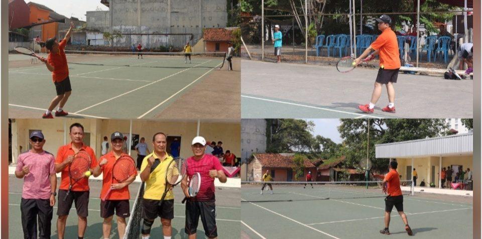 HUT ke-48 KORPRI, Turnamen Tenis Lapangan Digelar