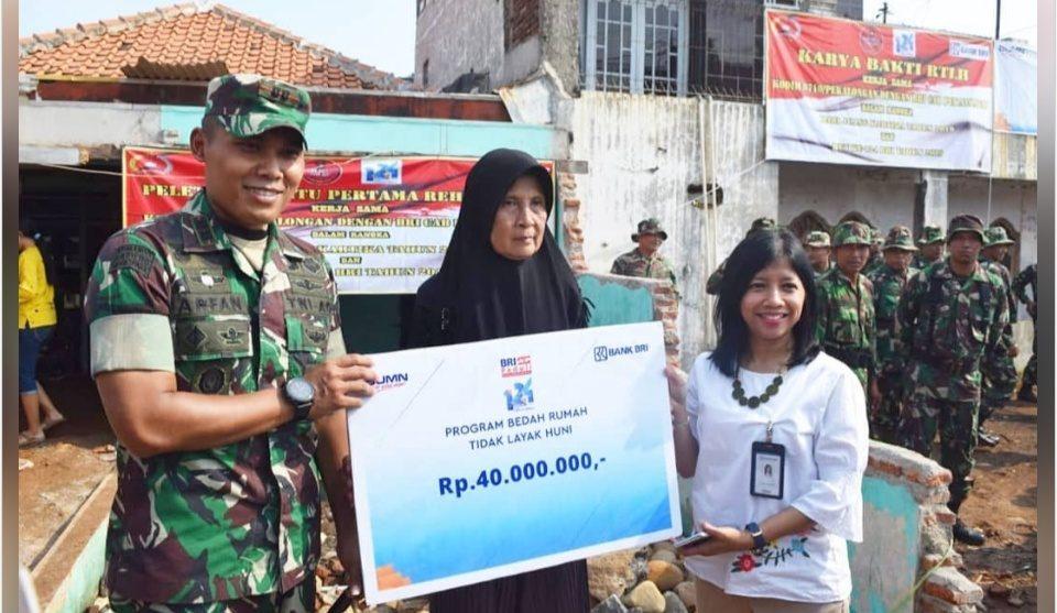 Kodim Pekalongan Bersama CSR BRI Bakal Rehab 5 RTLH