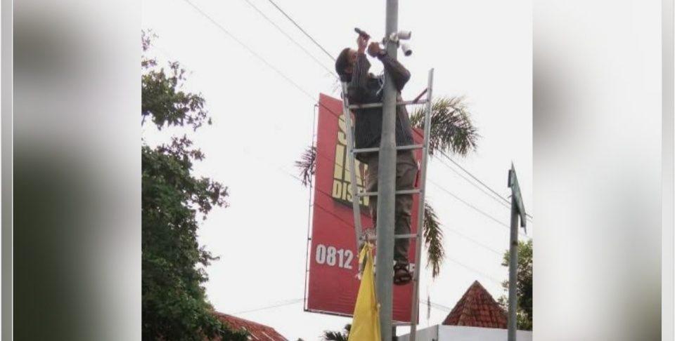 Libur Tahun Baru, Polres Pekalongan Pasang CCTV di Pusat Keramaian