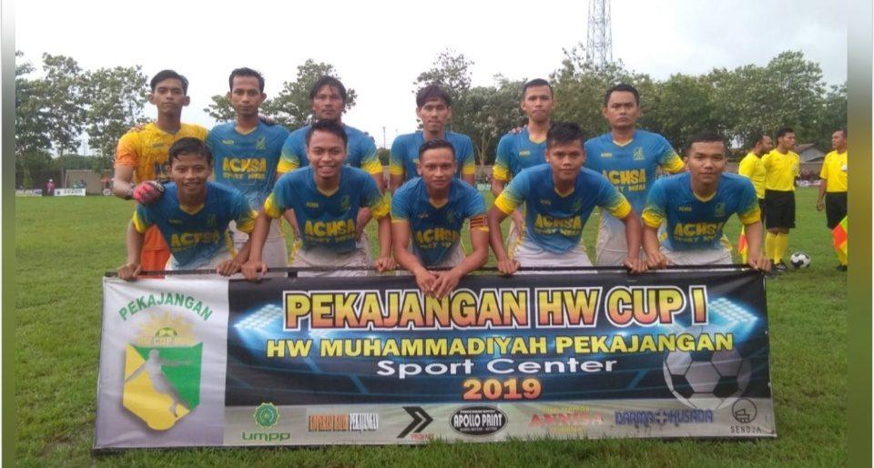 Pamandela FC Lambanggelun Juarai Piala HW Pekajangan Cup 2019