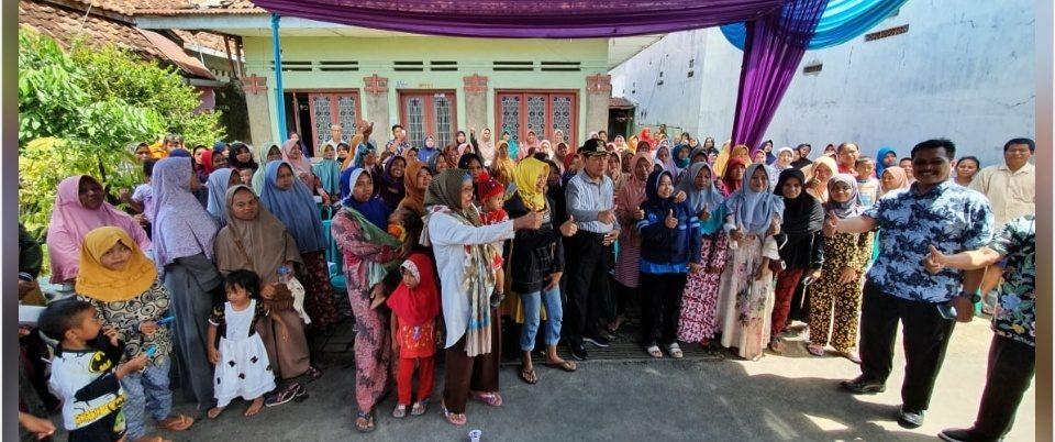 Pemkot Salurkan Bantuan Sembako ke 346 KPM Kelurahan Setono