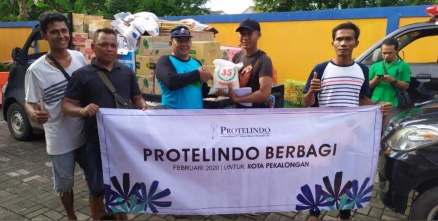 Banjir Kota Pekalongan 2020, Protelindo Gelar Aksi Peduli