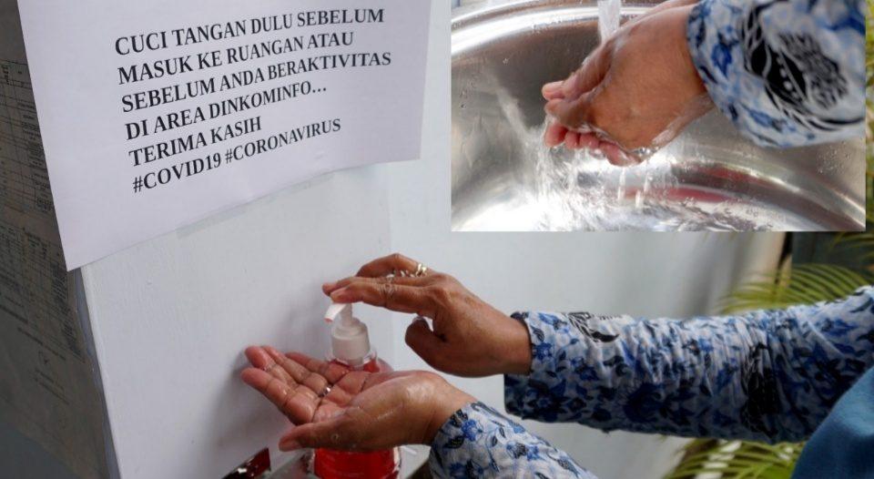 Cuci Tangan Efektif Cegah Penularan Virus Covid-19
