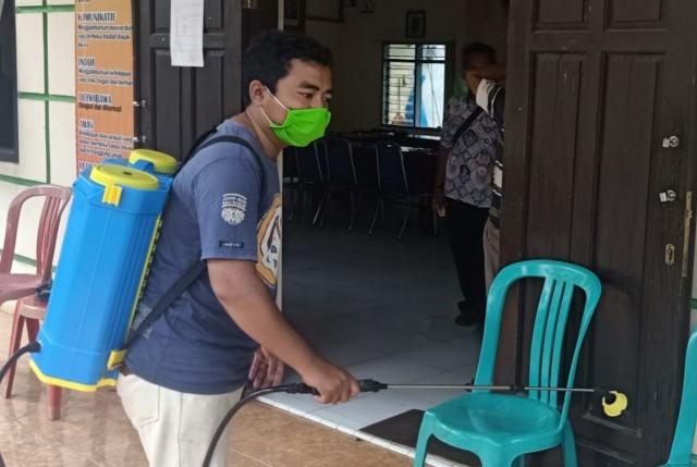 Enam Kadus Desa Sumurjomblangbogo, Distrilisasi Anti Covid19